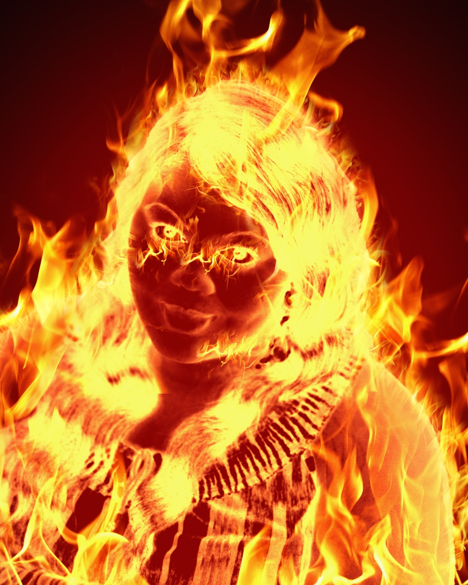 A Girl on Fire