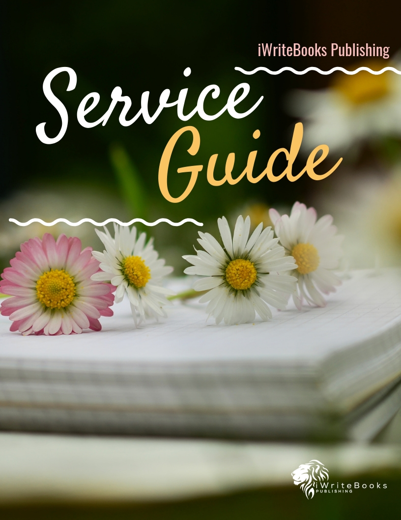 iWriteBooks Publishing Service Guide Cover